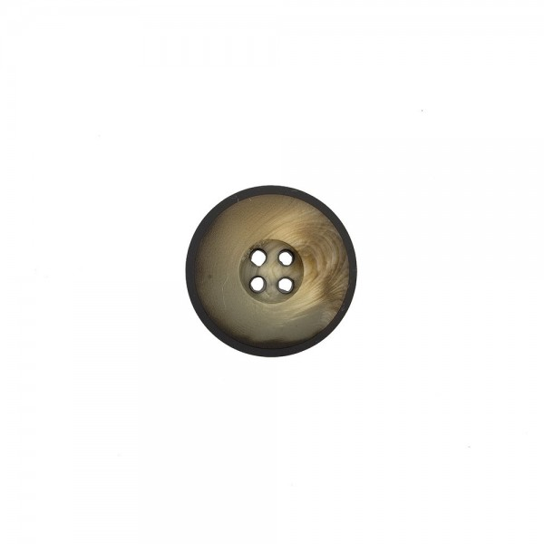 SUIT-COAT BUTTON - BROWN BEIGE