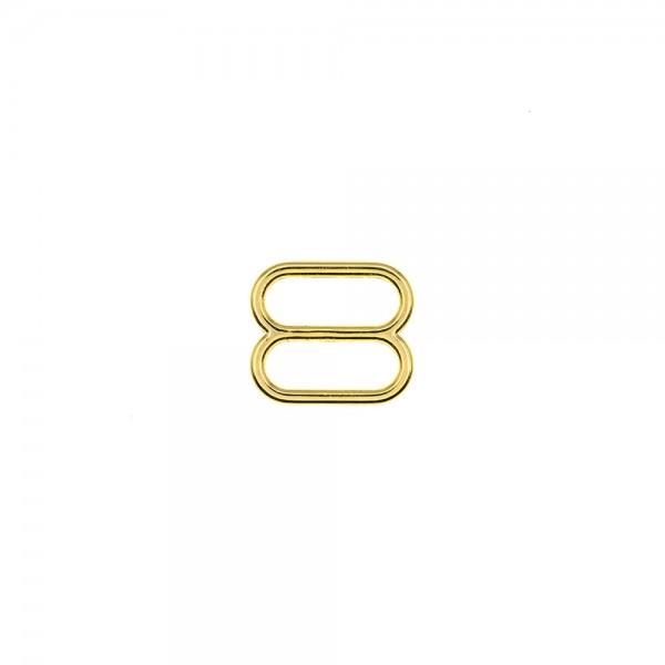 METAL SLIDER FOR STRAPS 14MM - GOLD