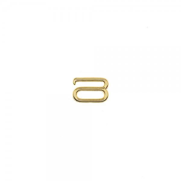 METAL HOOK FOR STRAPS 10MM - GOLD