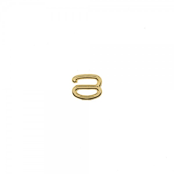 METAL HOOK FOR STRAPS 8MM - GOLD