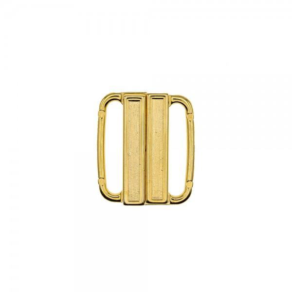 METAL BIKINI CLASPS 25MM - GOLD