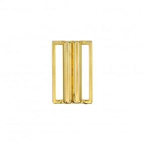 METAL BIKINI CLASPS 30MM - GOLD