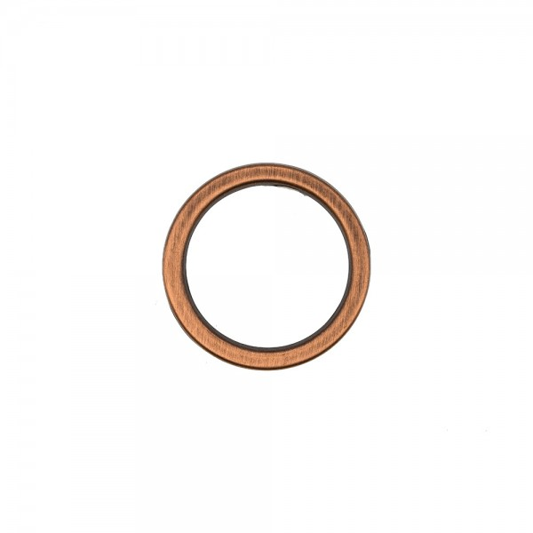 FLAT METAL RING - COPPER