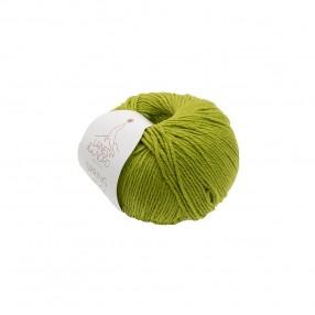 SPRING WOOL YARN Laines Du Nord - ACID GREEN