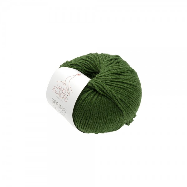 SPRING WOOL YARN Laines Du Nord - GREEN