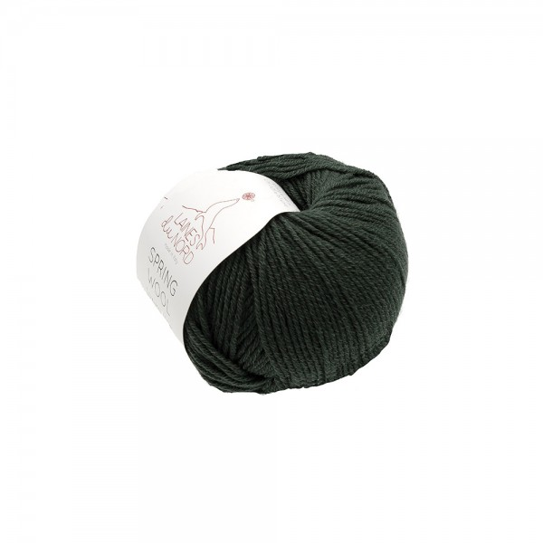 SPRING WOOL YARN Laines Du Nord - LODEN GREEN