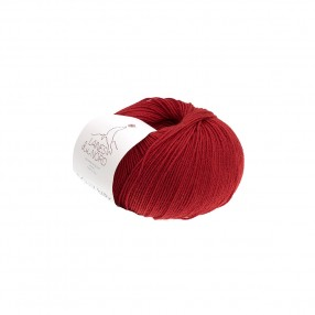 DOLLY BABY YARN Laines Du Nord - RED
