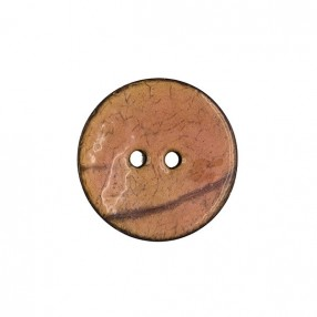 GENUINE COCONUT BUTTON - ANTIQUE PINK