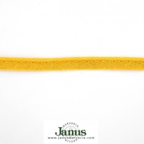 COTTON PIPING CORD - AMBER YELLOW