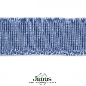 FRINGE RIBBON 38MM - DENIM BLUE