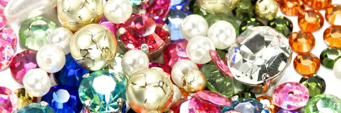 Rhinestone and Glass Stones