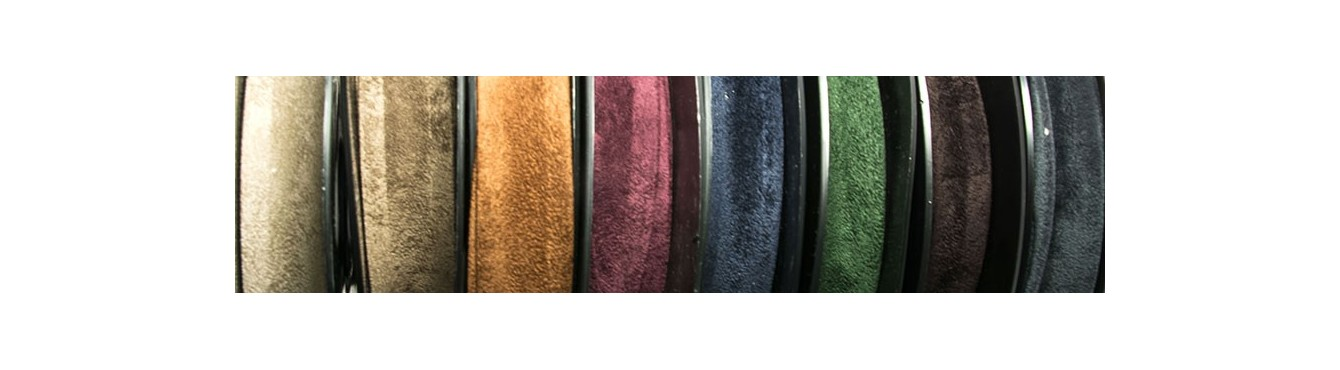 Suade Leather Bias Binding