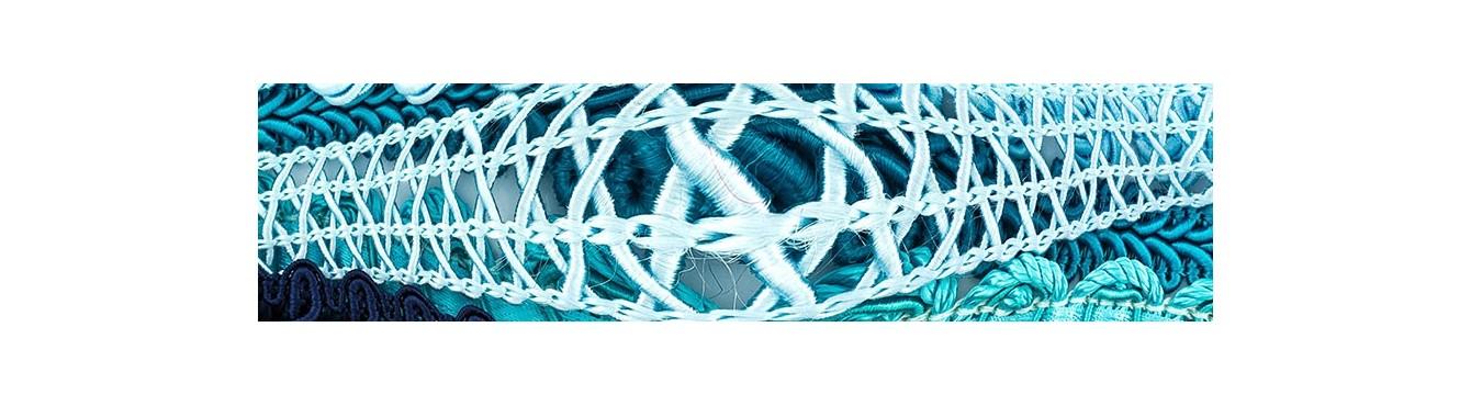 Blue Braid Trim