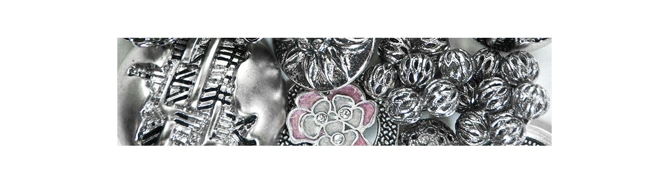 Silver Metal Buttons