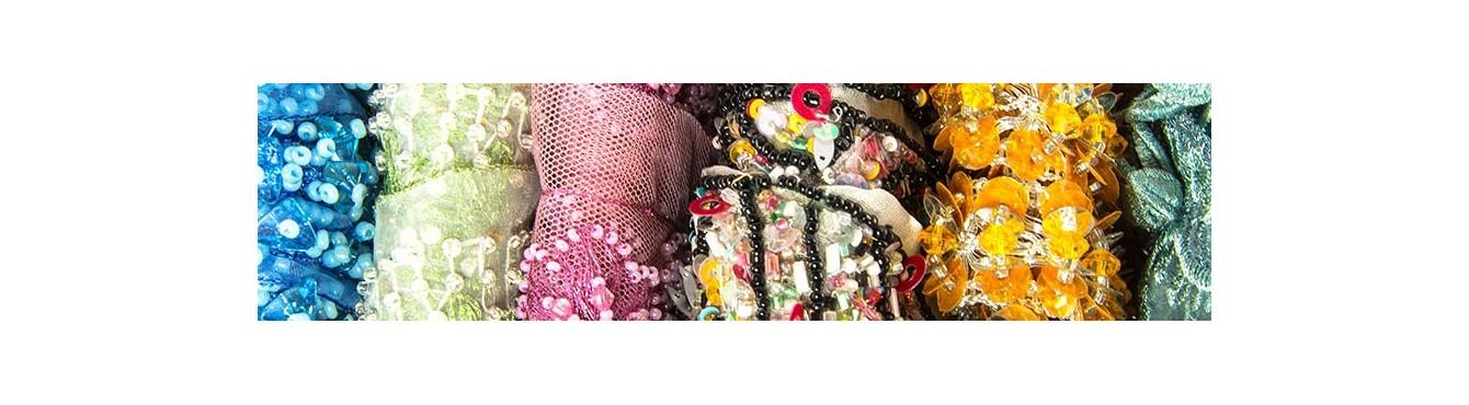 Multicolor Beads Trim