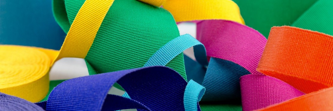 Cotton Acetate Gros-Grain Ribbon