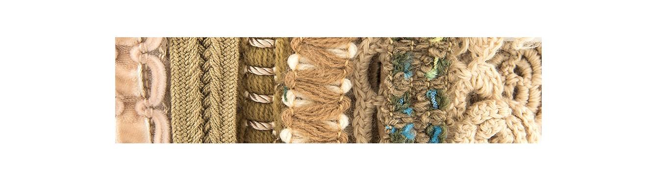 Wool Trimm Beige/Brown