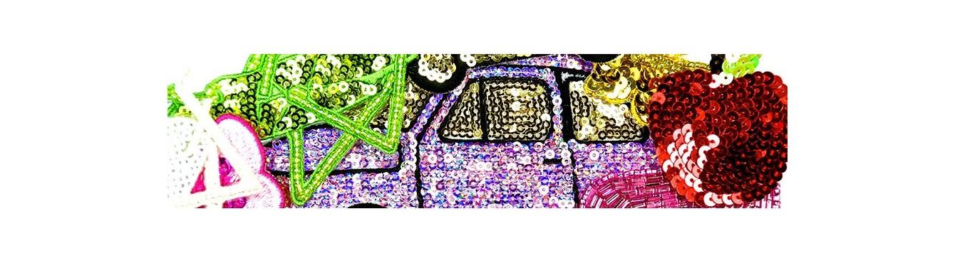Beads-Sequins Motif