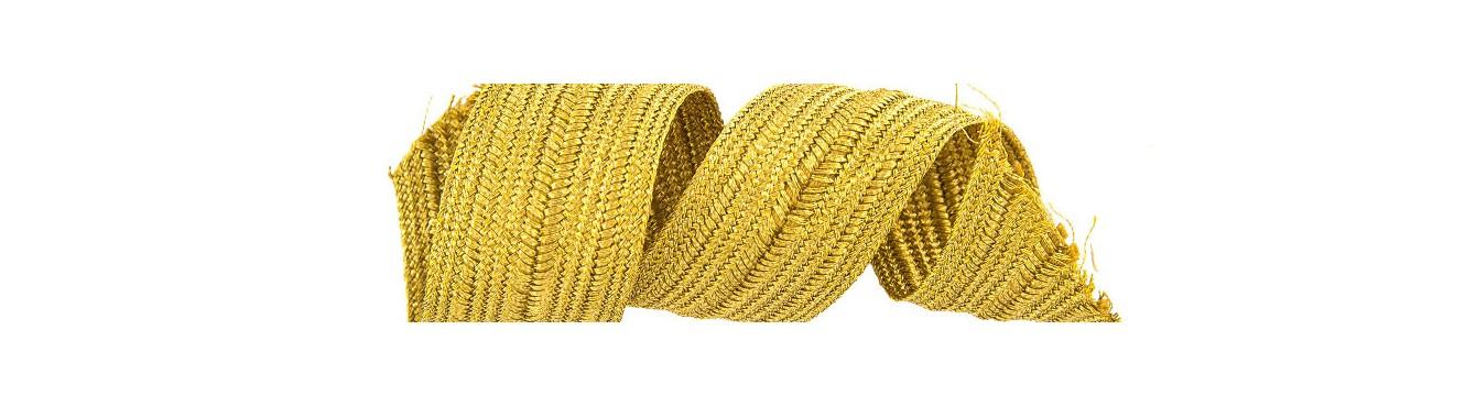 Metallic Braid Ribbon