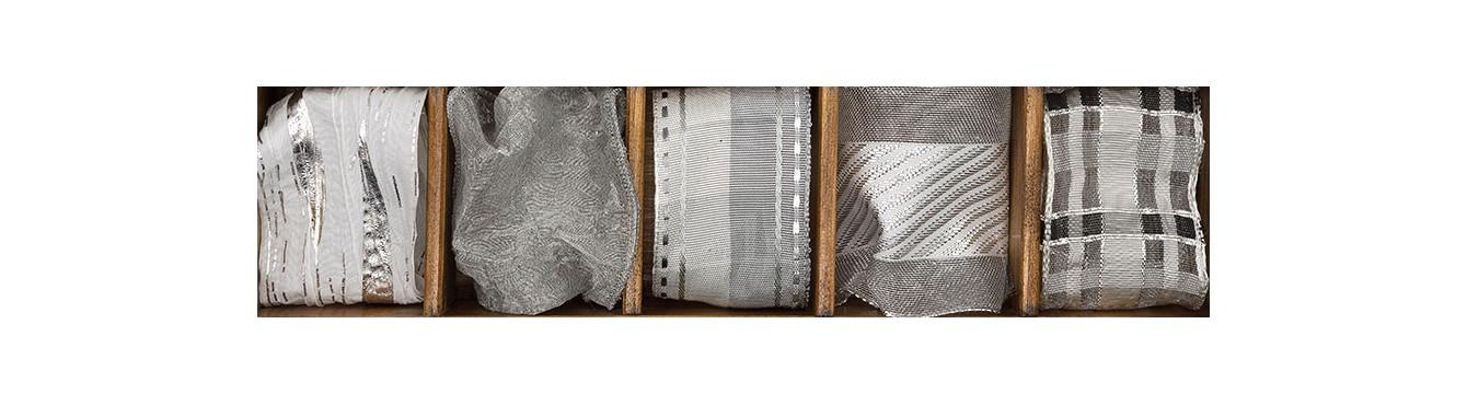 Decorative Ribbon - Silver