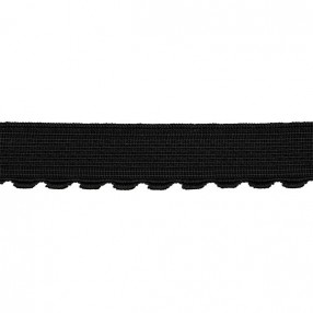 JEWELLERY RUBBER CORD 2MM black